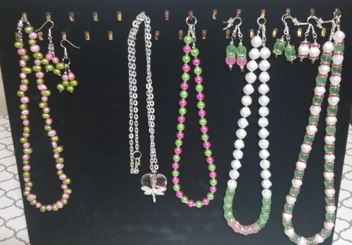"""Sorority Sistas"" - Necklaces and Necklace Sets"